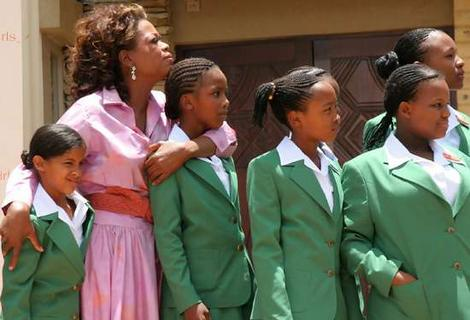 Oprah and the girls