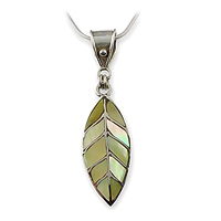 MofP leaf necklace