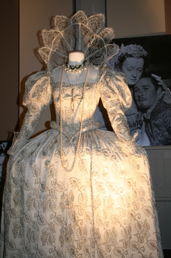 Bette Davis as Queen Elizabeth I (pretty sure)